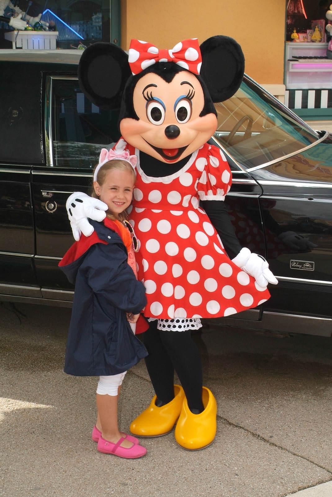 Personajes Disney de Disneyland París
