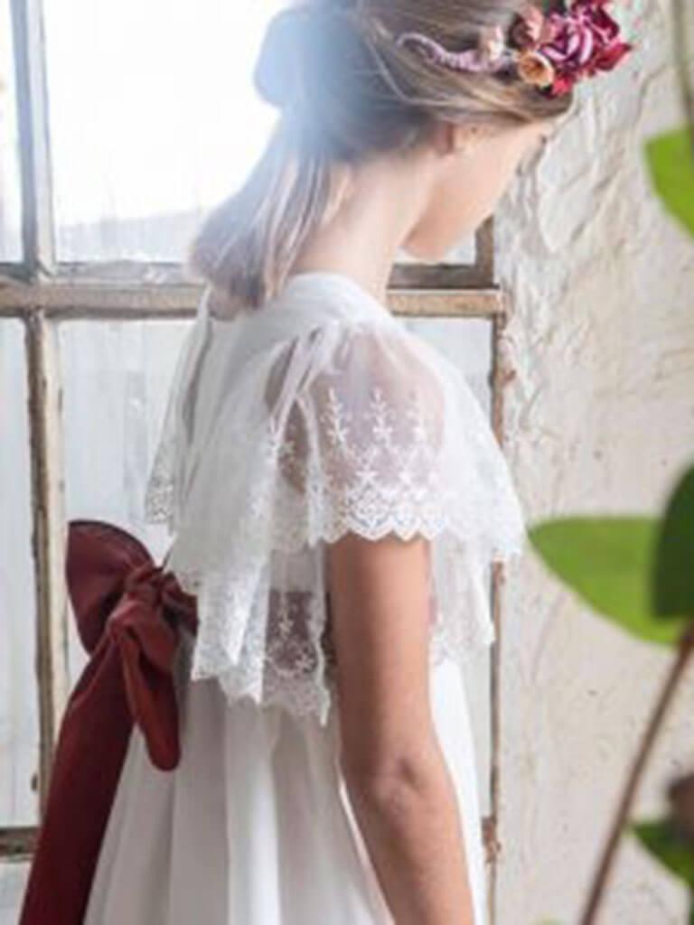 Vestido de Comunión Maria de Saas
