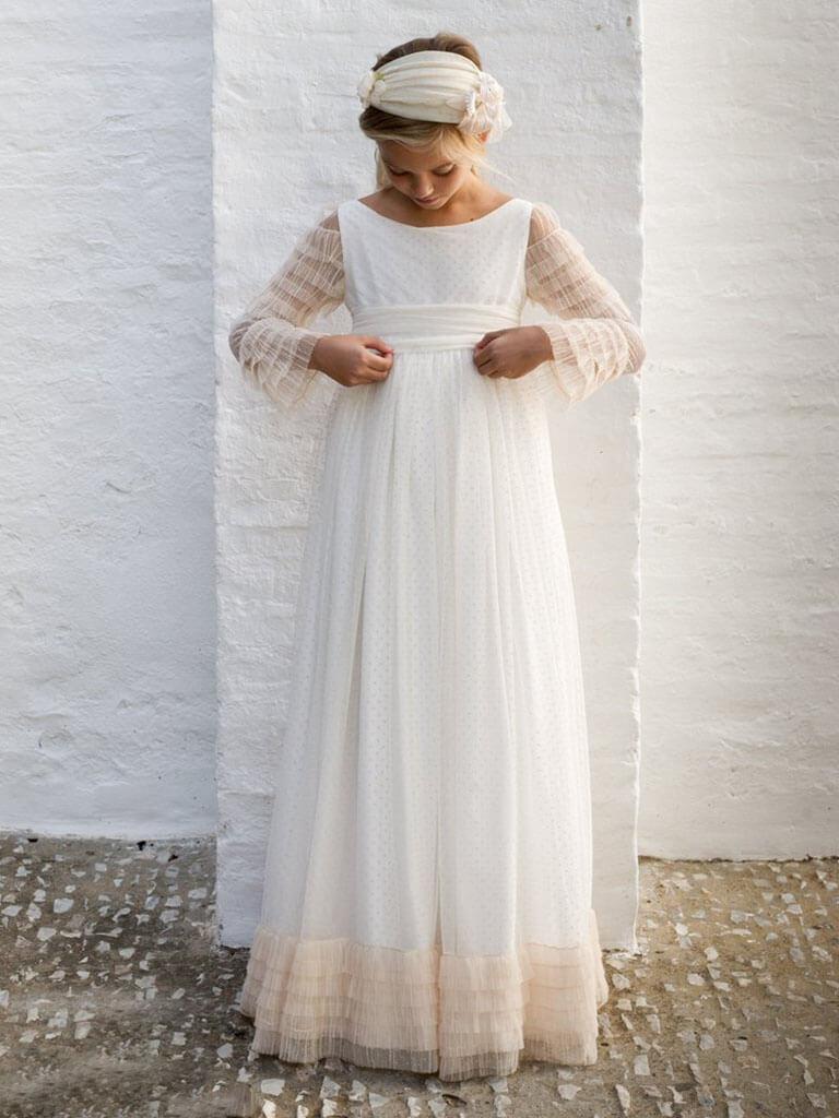 Vestido de Comunión 2020 de Pilar del Toro